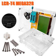 LCR-T4 Mega328 Transistor Tester Triode Capacity ESR Meter MOS NPN Shell Case