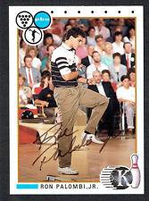 Ron Palombi Jr. #44 signed autograph auto 1990 Kingpins PBA Bowling Trading Card