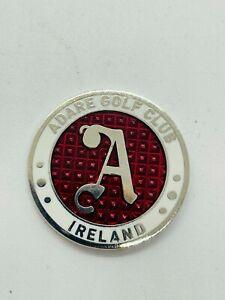 Adare Golf Club Ireland Switchblade Divot Repair Tool Polymer with Ball Marker