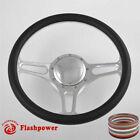 14 Billet Aluminum 9 Hole Steering Wheel Kit W Horn Button Adapter