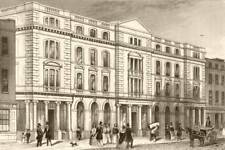 PATERNOSTER ROW. Religious Tract Society's Repository. London. DUGDALE c1840