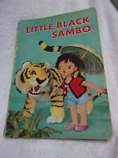"Little Black Sambo "" A Living Story Book "" Hard Cover 1962"
