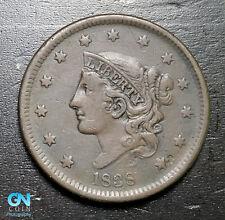 1838 Coronet Head Large Cent   --  MAKE US AN OFFER!  #B6287