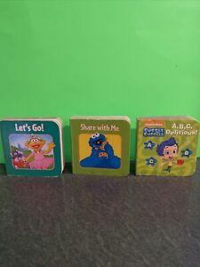 sesame street board books Cookie Monster Elmo Bubble Guppies ABC