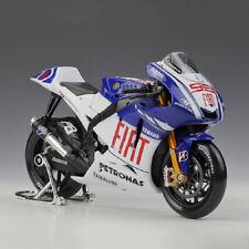 1:10 YAMAHA Fiat Diecast Motorcycle Model 2009 MotoGP No.99 JORGE LORENZO Maisto
