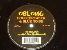 """HOUSEBREAKER & BLUE NOISE - Blunt - UK 2-track 12"""" Vinyl Single"""