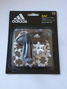Adidas AG Thintech 20 piece Clamshell Cleats Golf Studs Spikes White