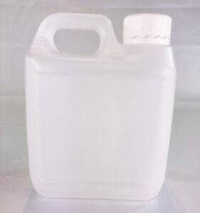 Plastic Bottles HDPE +Lid  1 Litre Jerrycan  - You choose Quantity