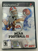 NCAA Football 11 PS2 Sony Playstation 2 Complete Tested Works Rare Last Year