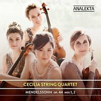 Cecilia String Quartet - Mendelssohn: String Quartets  Op. 44, Nos 1, 2 [CD]