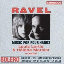Maurice Ravel : Maurice Ravel - Music for Four Hands CD (1999) ***NEW***