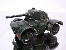DINKY TOYS 670 ARMOURED CAR - ARMY GREEN - GOOD CONDITION