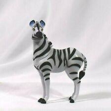 Disney Store Authentic ZEBRA LION KING FIGURINE Cake TOPPER Toy NEW