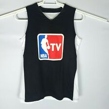 Nba Tv Promotional Mens M Reversible Black/White Basketball Jersey