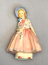 "Royal Doulton ""Lily"" Girl Pink Dress Figurine Hn 1798"