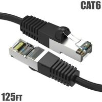 LOT50  OF 1 FT Cat6A SHIELDED BOOTED Patch Cord Ethernet Cables FREE SHIP BLUE