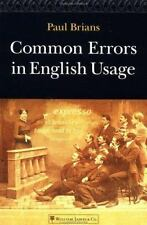 Common Errors in English Usage by Brians, Paul, Good Book