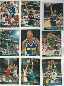 90's INSERTS LOT (9/20) 1992-93 UPPER DECK ROOKIE STANDOUTS SHAQUILLE SHAQ RC ZO
