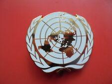 Coiffure . insigne de  Beret  - ONU