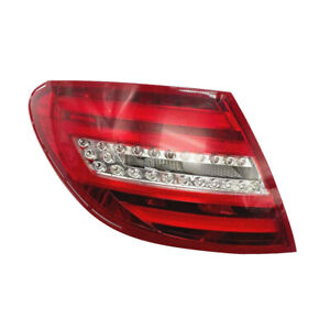 Car Left Tail Rear Light Brake Lamp Fit For Benz C250 Base Coupe 2012-2014