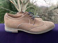 SAVANNAH HARBOR Suede Wingtip Saddle Oxfords Shoes Mens Loafers Size 12 ❤️sj12m1