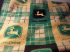 Vintage John Deere Fleece Throw Blanket