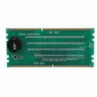 DDR2 DDR3 Desktop-RAM-Testkartenadapter Speichertester Analyzer W / LED-Anzeige