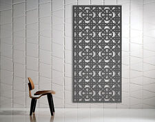Laser Cut Metal Steel Decorative Screen 'Orient' Mild Steel - 1200 x 600