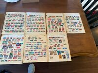 Lot Of 7 Pages German Stamps Collection Reich DDR