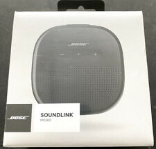 Bose SoundLink Micro Portable Bluetooth Wireless Speaker, Black Iphone / Android