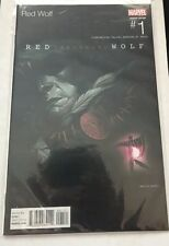Red Wolf (2016) #1 Mike Del Mundo Hip Hop Variant Cover Mavel NEW/UNREAD
