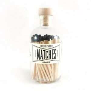 Apothecary bottle of 100 matches
