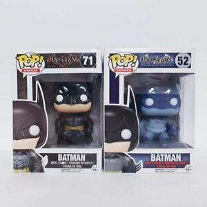 DC Batman Arkham Knight & Asylum #71 + #52 Funko Pop Vinyl Bundle Set