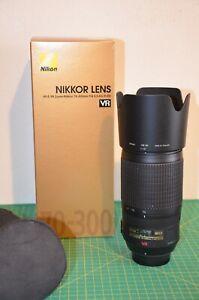 Nikon  AF-S Zoom Nikkor 70-300 f 4,5-5,6G IF-ED VR