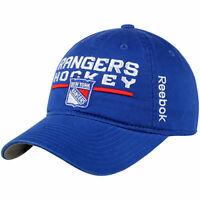NHL Reebok New York Rangers Slouch Adjustable Cap Snapback Hat