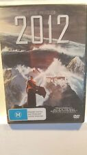 2012 [DVD] NEW & SEALED, Region 4, FREE Next Day Post from NSW
