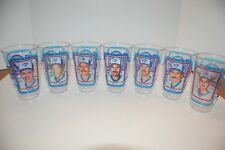 Toronto Blue Jays 10th anniversary 1986 plastic cups Lot of 7 cups