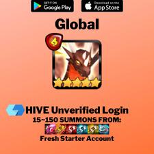[Global] Zaiross Fire Dragon Summoners War NAT 5 Starter Account