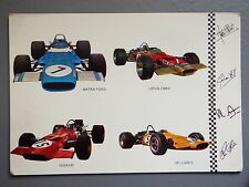 R&L Postcard: Matra Ford, Ferrari, McLaren Formula 1 Motorsport, Cars, BV Spain