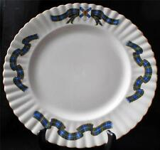 "Vintage ROYAL ALBERT Bone China England NOVA SCOTIA TARTAN 10 3/8"" Salad Plate"
