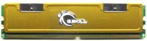 512MB G.Skill DDR2-800 RAM PC2-6400U CL5 5-5-5-15@1.9V-2.0V F2-6400PHU1-512NR