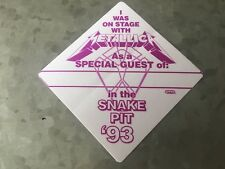 Metallica - 1993 - Snake Pit Pass - Purple/White