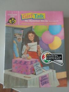 GIRL TALK Jigsaw Puzzle NOS NEW shrink-wrapped Mysterious Mix Up Mystery 1991