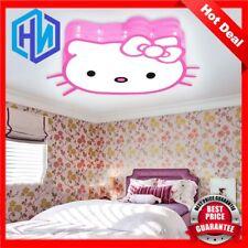 Hello Kitty Led Lamp Kids Ceiling Light Lighting Girls Children's Bedroom Lamp