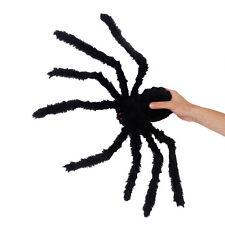 75cm Giant Black Spider Halloween Decoration Indoor Outdoor Haunted House Prop