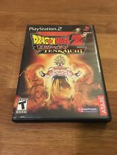 Dragon Ball Z Budokai Tenkaichi Sony PlayStation 2 PS2 Video Game 2005 Atari