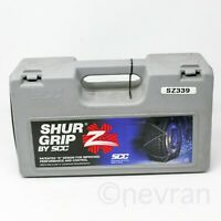 Security Chain Company SZ329 Shur Grip Super Z Passenger Car Tire Traction Chain Set of 2
