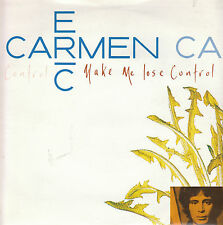"7"" 45 TOURS UK ERIC CARMEN ""Make Me Lose Control / All By Myself"" 1988"