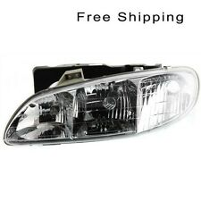 Halogen Head Lamp Assembly Driver Side Fits 1996-1998 Pontiac Grand Am GM2502140