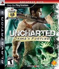 Uncharted: Drake's Fortune - Greatest Hits Edition - SONY PS3 Action Adventure